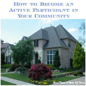 how to Become an Active Participant in the Community