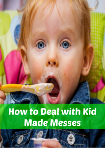 kid made messes