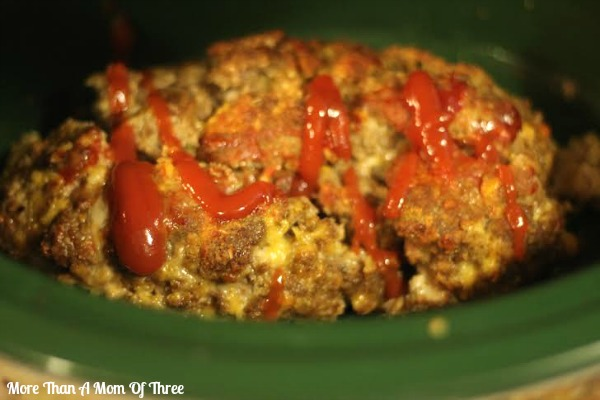 simple cheese crockpot meatloaf dinner
