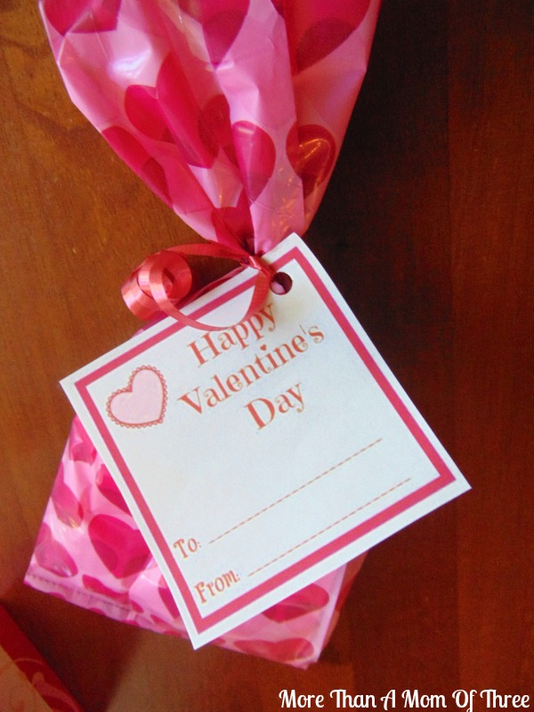 valentines day cards for goody bags