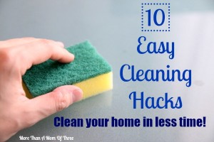 easy cleaning hacks