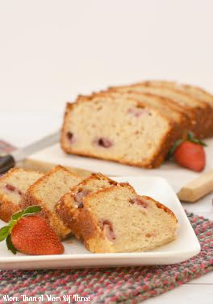 homemade strawberry bread