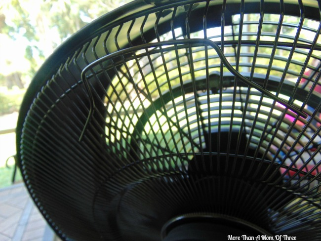 NewAir misting fan