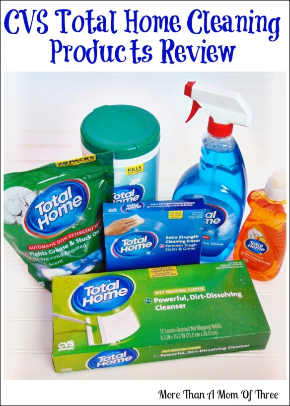 CVS Total Home Cleaning Products Review + Giveaway