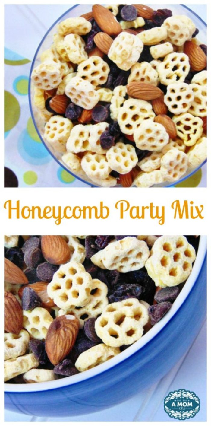 Honeycomb Cereal Party Mix