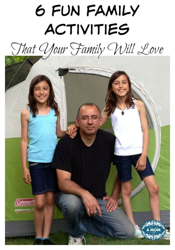 Six Fun Family Activities That Your Family Will Love