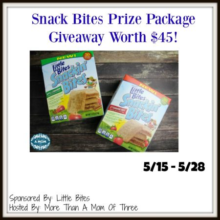 Snack Bites prize package worth $45