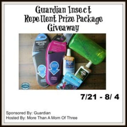 Guardian Insect Repellent Giveaway Prize Package
