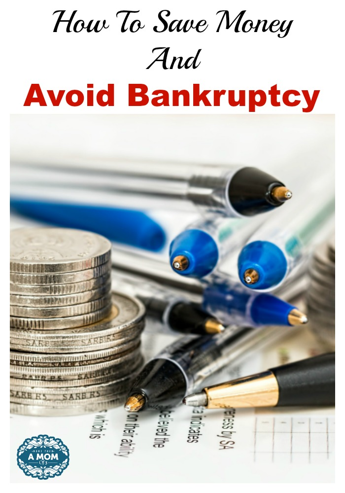 Save Money And Avoid Bankruptcy