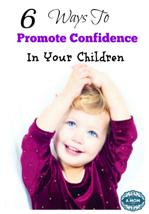 Ways To Promote Confidence In Your Children At a Young Age
