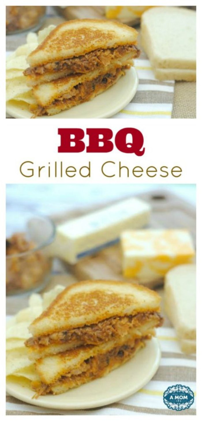 Mouthwatering Babyback Ribs BBQ Grilled Cheese