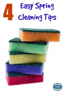 4 Easy Spring Cleaning Tips