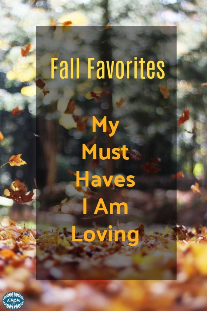 My Fall Favorites - All The Things I am Loving This Fall