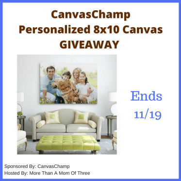 CanvasChamp Giveaway