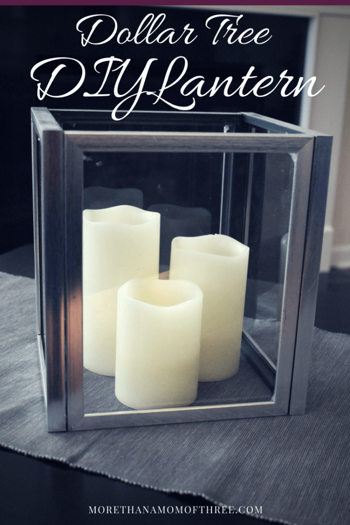 Dollar Tree DIY Lantern - Beautiful Frugal Home Decor