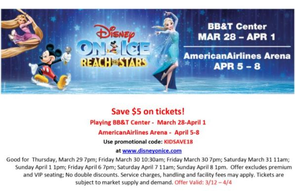 Disney On Ice Reach For The Stars Promo South Florida