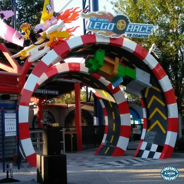LEGOLAND Florida presents the Great LEGO Race. A virtual reality roller coaster.