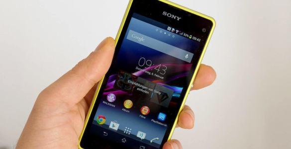 Sony Xperia Z1 Compact Test – Luxus in kompakter Größe
