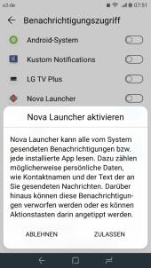 Nova Launcher Beta