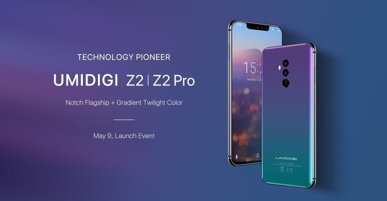 UMIDIGI Z2|Z2 Pro Specs bekanntgegeben