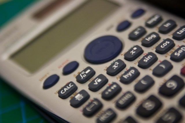 Complementary Creative Commons Casio Calculator by Boaz Arad via Flickr (CC BY 2.0)