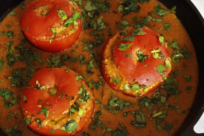 Stuffed Tomato with a Twist