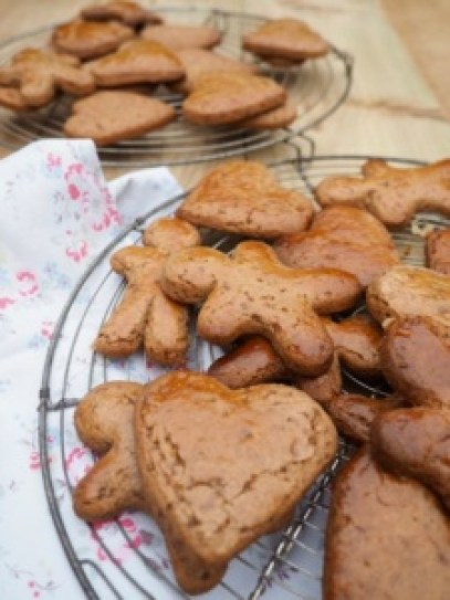 Speculaas biscuits recipe for kids from More Than Just Carrots