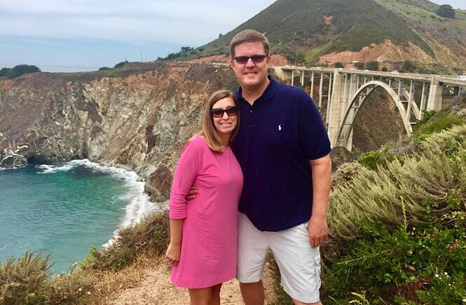 The Ultimate 10 Day California Road Trip Itinerary featured by top US family travel blog, More Than Main Street: Bixby Bridge in Big Sur