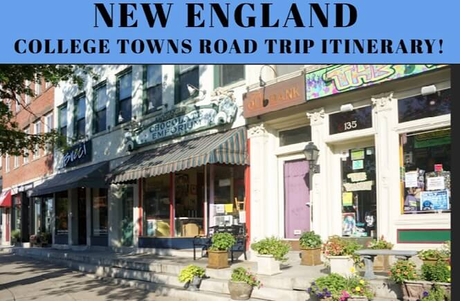 Northeast Road Trip >> A Genius New England Road Trip Itinerary College Towns