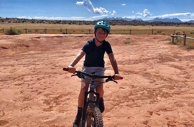 Mountain Biking in Moab, Utah!