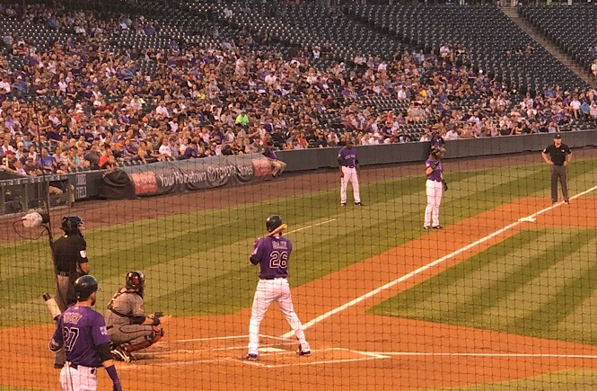 The Ultimate Denver Itinerary featured by top US family travel blog, More Than Main Street: Colorado Rockies baseball game