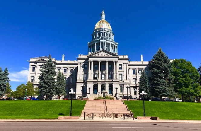 The Ultimate Denver Itinerary featured by top US family travel blog, More Than Main Street: Denver capitol building
