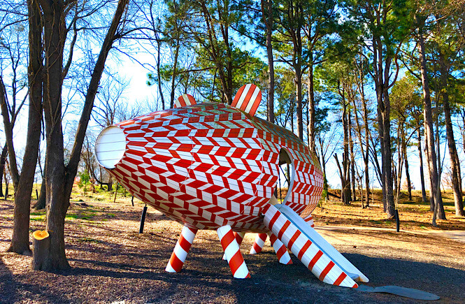 Top 10 Fun Things to Do in Raleigh with Kids tips featured by top North Carolina travel blog More than Main Street: NC Museum of Art.