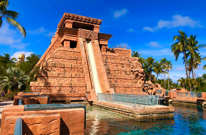 Packing Essentials: What to Bring to Atlantis as featured by top US travel blog, More than Main Street: water slide.