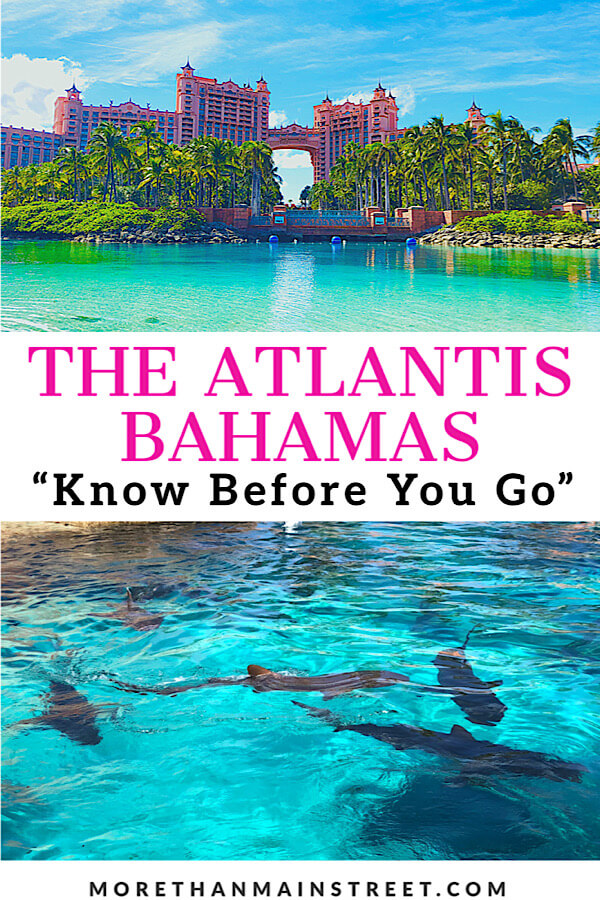 Bahamas Family Vacation: Top 10 Tips for Visiting Atlantis with Kids as featured by top US family travel blog More than Main Street