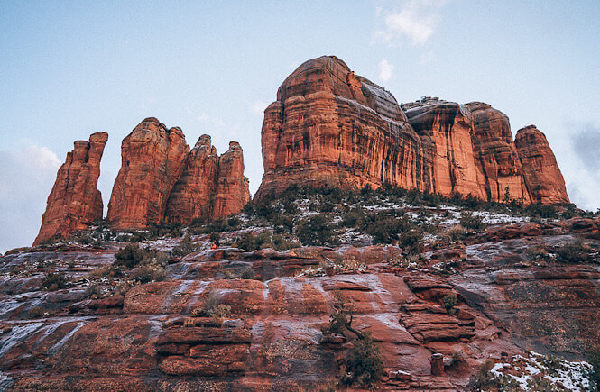 Top 15 best off the beaten path spring break destinations in the US for families featured by US family travel blog, More Than Main Street: Sedona, Arizona