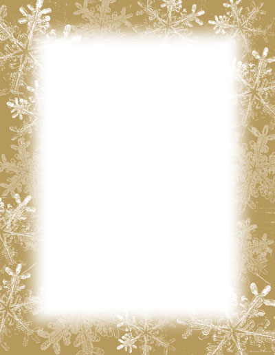 Imprintable Blank Stock Frosted Holiday Wishes