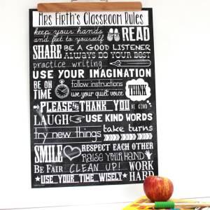 sku77-01-Teacher Classroom Rules