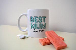 'Best Mum' Mug gift