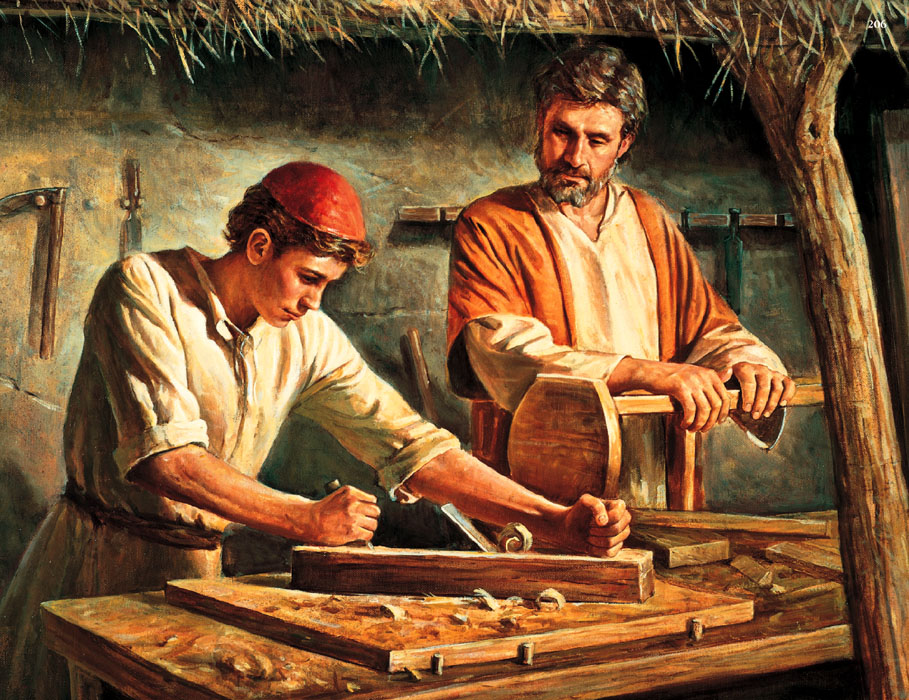 Really Carpenter Jesus Was