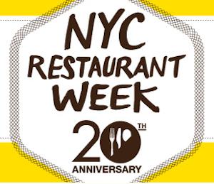 NYC Restaurant Week 2012