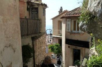 Eze on the French Riviera