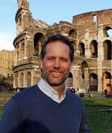 Author Rick Zullo, an American expat living in Rome