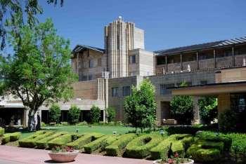 Exterior of the iconic the Arizona Biltmore