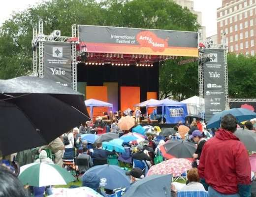 International Festival of Arts and Ideasmbrellas In New Haven