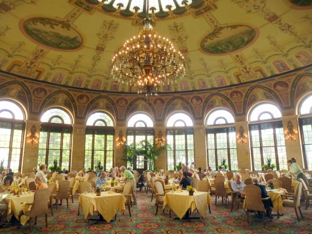 The Circle (brunch room) at The Breakers