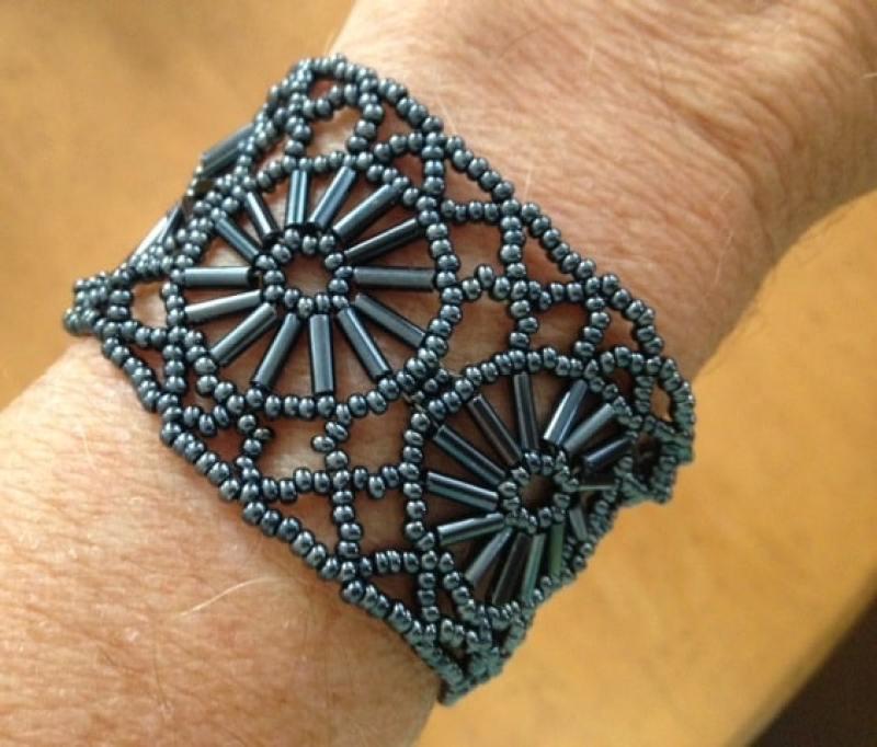 My beaded bracelet from Huatulco