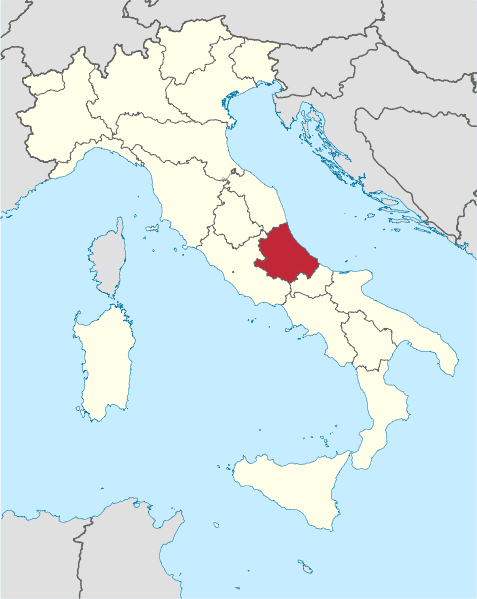 Abuzzo, Italy (Credit- Wikipedia)