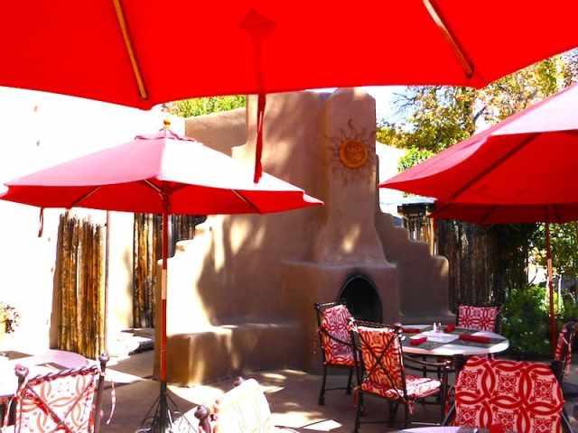 Patio Restaurant at La Posada de Santa Fe