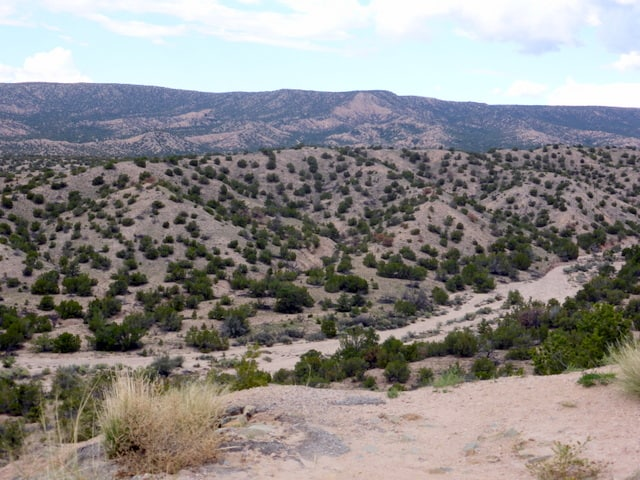 Chimayo is located in the foothills of the Sangre de Cristo Mountains
